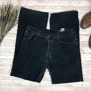 GAP 1969 Black Button Fly Corduroy Boot Cut Pants